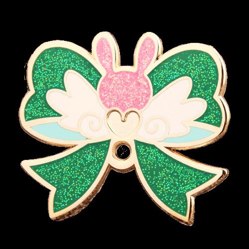 custom glitter enamel pins