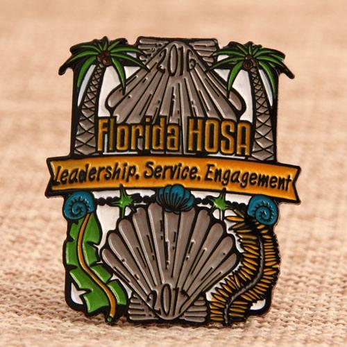 Custom HOSA Lapel Pins
