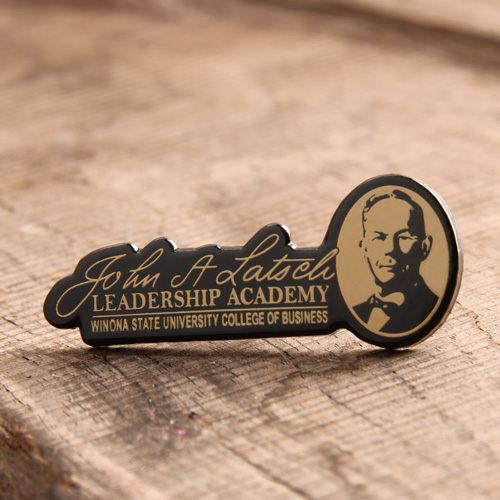 Custom Leadership Academy Pins