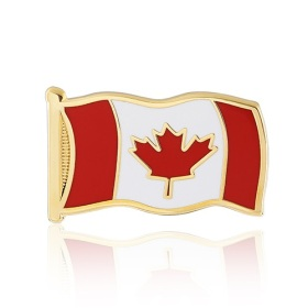 Stock Canada Flag Lapel Pins (S113)