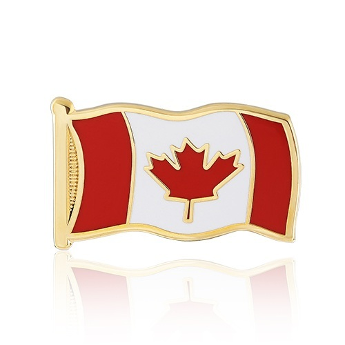 Stock Canada Flag Lapel Pins (S113)