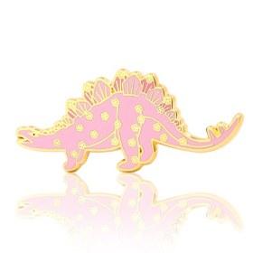 Stegosaurus Dinosaur Enamel Pins