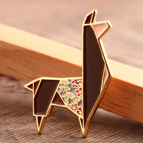 Origami Animal Enamel Pins
