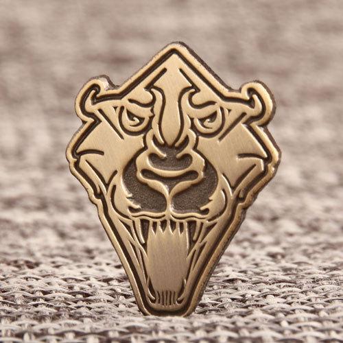 Tiger Head Vintage Cheap Pins