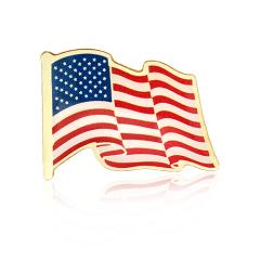 Stock American Flag Lapel Pins (S129)