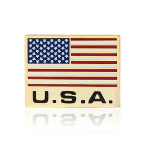 American flag lapel pins (S111)