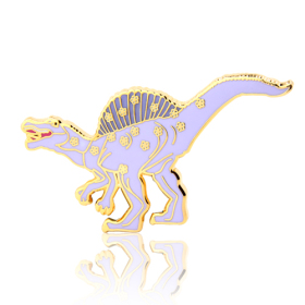 Spinosaurus Dinosaur Enamel Pins
