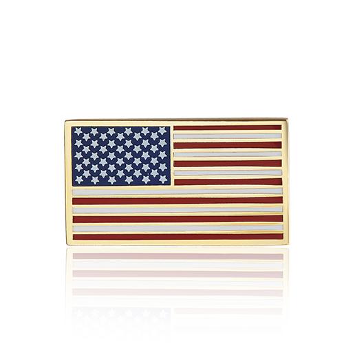American flag lapel pins (S110)