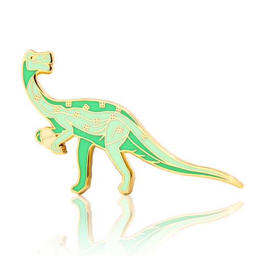 Oviraptor Dinosaur Enamel Pins