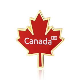Stock Canada Flag Lapel Pins (S115)