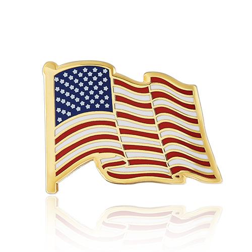 American flag lapel pins (S105)