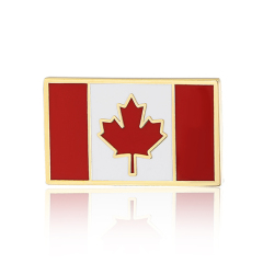 Stock Canada Flag Lapel Pins (S114)