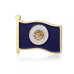 Minnesota American Flag Lapel Pins