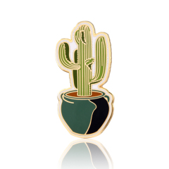 Succulents Cactus Enamel Pins
