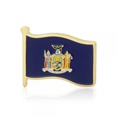 New York State Flag Lapel Pins