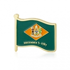 Delaware State Flag Lapel Pins