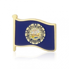 New Hampshire State Flag Pins