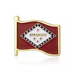 Arkansas State Flag Lapel Pins