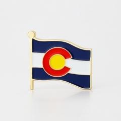 Ohio State Flag Pins