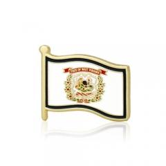 West Virginia American Flag Lapel Pins