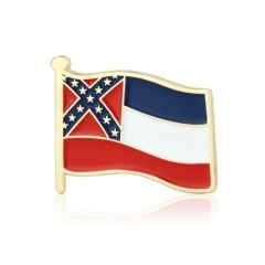 Mississippi Stock Lapel Pins