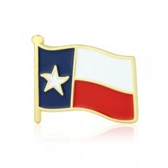 Texas State Flag Pins