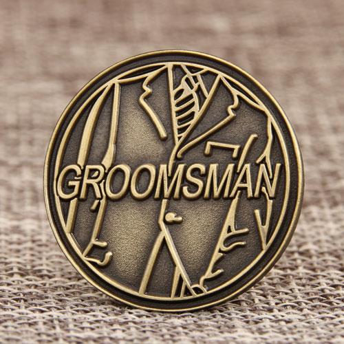 Groomsman Enamel Pins