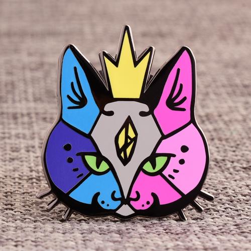 Cat Hard Enamel Pin