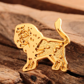 Lion Custom Enamel Pins