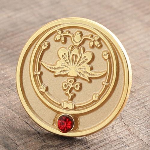 Lotus Enamel Pins