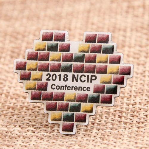 Custom 2018 NCIP Pins