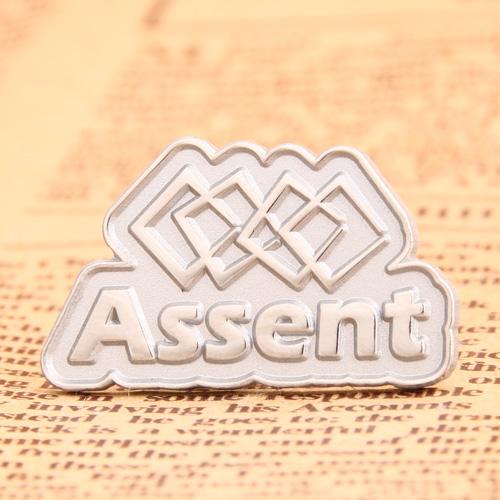Assent Enamel Pins