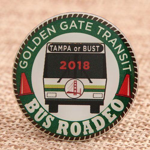 Custom Bus Roadeo Pins