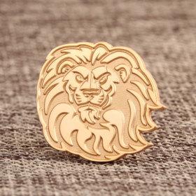 Lion Enamel Pins