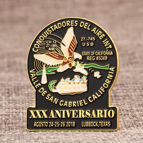 Aniversario Enamel Pins