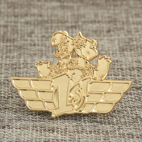 1.Dragon Enamel Pins