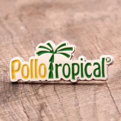 Pollo Ropical Enamel Pins