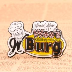 Woo's Burg Enamel Pin