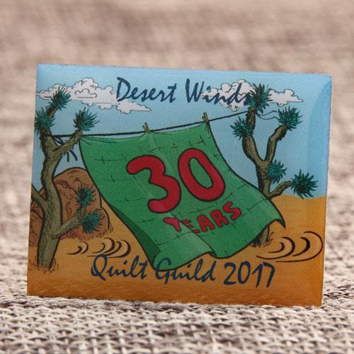 Custom 30 Years Pins