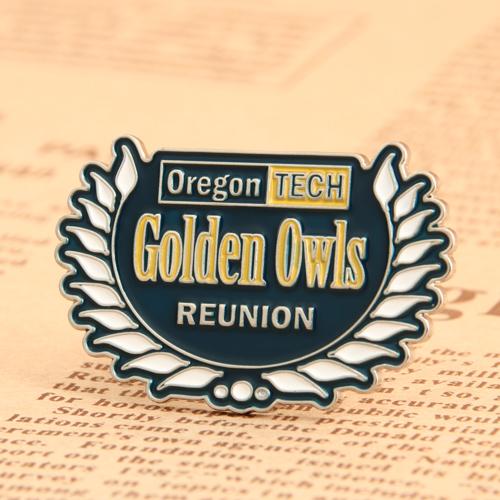 Golden Owls Reunion Enamel Pin