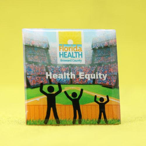 Custom Florida Health Pins