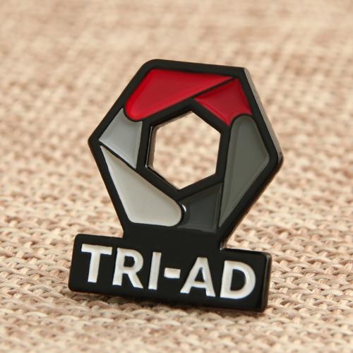 TRI-AD Custom Enamel Pins