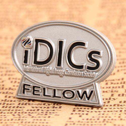 Idics Custom Lapel Pins No Minimum