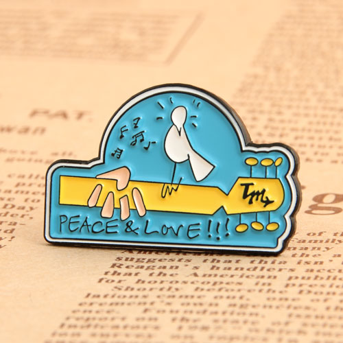 Peace Love Custom Pins