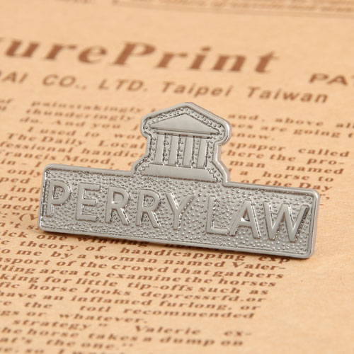 Perry Law Custom Enamel Pins