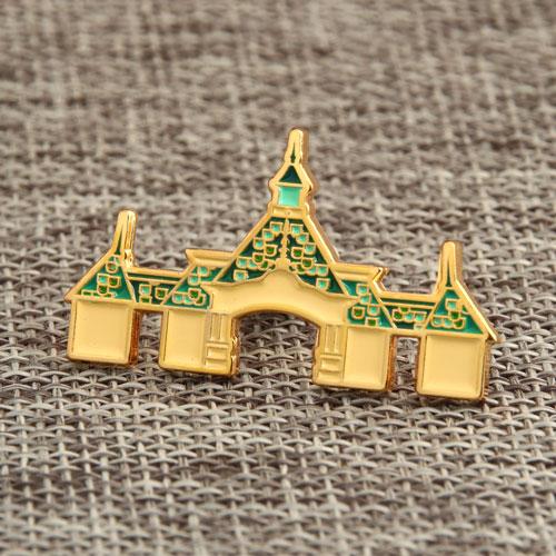 Indian Palace Enamel Pins