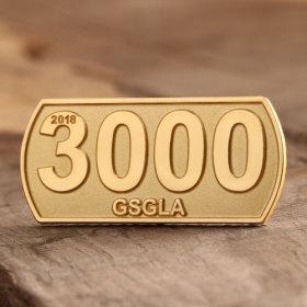 3000 Custom Enamel Pins