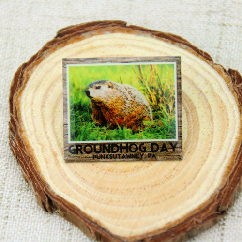 Custom Groundhog Day Pins