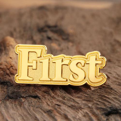 First Custom Enamel Pins