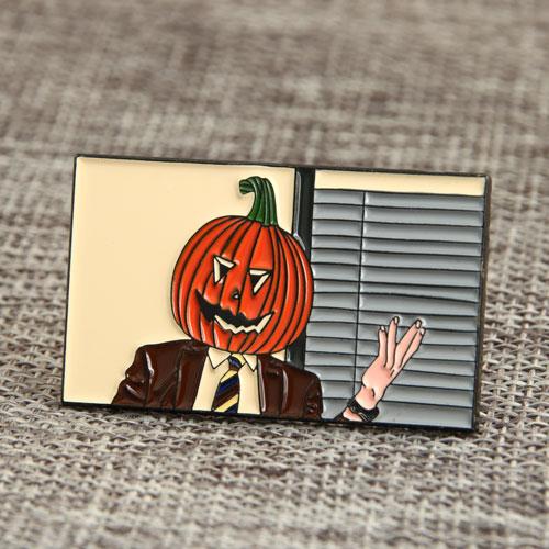 Custom Mr. Pumpkin Pins